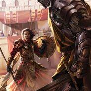Oberyn Martell juicio by Magali Villeneuve©