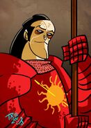 Oberyn Martell by The Mico