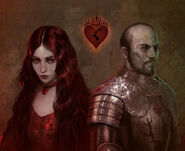 Stannis and Melisandre by Bella Bergolts©