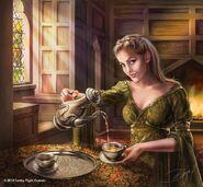 Tyene Arena by Drazenka Kimpel©, (2014) Fantasy Flight Games