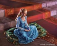 Tyene by Drazenka Kimpel©, (2015) Fantasy Flight Games
