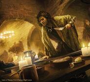 Timett son of Timett by Joshua Cairós, Fantasy Flight Games©
