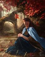 Sansa Stark in the Goodswood of the Red Keep by Josu Hernaiz©