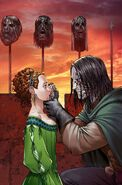 Sansa and Sandor by Mike S. Miller©