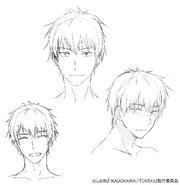 Yoshida Anime Rough Sketch