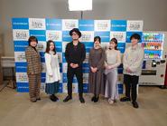 Higehiro Main Cast @ KADOKAWA Light Novel Expo 2020