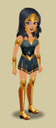 KOH MAKEOVER (WARRIOR KOH OUTFIT)