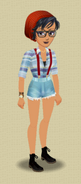 KOH MAKEOVER (HIPSTER KOH OUTFIT)