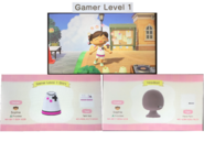 Gamer Level 1 Custom Design from Animal Crossing- New Horizons