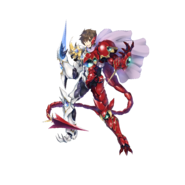Issei White and Red BxB No Helmet