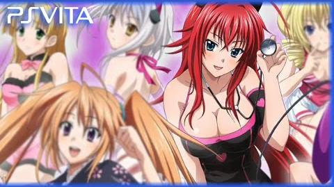 PS Vita - High School DxD New Fight Debut Gameplay Trailer