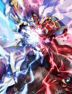 Issei White and Red BxB