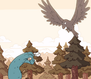 Great Raven vs Forest Giant
