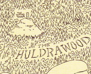 Witches tower in Huldrawood