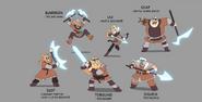 Torgund Clan character sheet