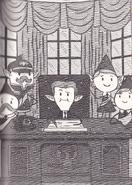 Elf prime minister and parliament - novelization