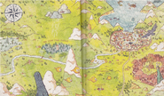 Map Trolberg Hilda's book of beasts and spirits