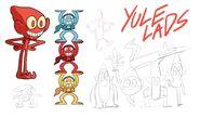 Yule lads concept art 2