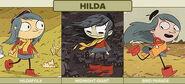 Hilda art evolution