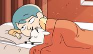 Hilda and Twig sleeping