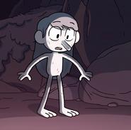 Hilda as a troll in Season 2