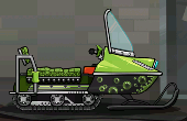 Snowmobile Green Black Bubbles.png