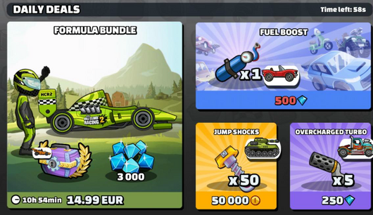A example picture of a bundle In the Shop