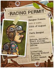 Racing permit ranger powers.jpg