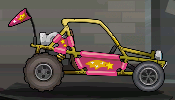 Dune Buggy pink yellow stars.png