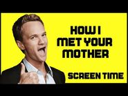 HOW I MET YOUR MOTHER Characters Screen Time