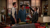 Barney attempts to give Ted a Relapse Five.