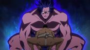 Shidō Intimidates Opponent