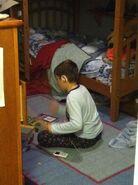 Nick Fernandez, age 9