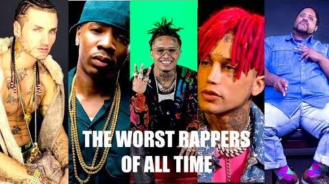 The Worst Rappers of All Time