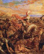 Bitwa pod Warną (fragment - Władysław)