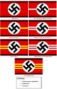 Dienststellungsarmbinden der SS (1926–1930)