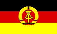 Flagge der DDR (1959–89)