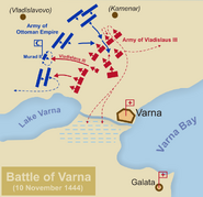 План Битвы при Варне