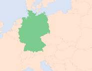 Deutschlands Lage in Europa (1990–heute)