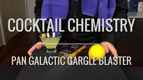 "Recreated - ""Pan Galactic Gargle Blaster"" from Hitchhiker's Guide To The Galaxy"
