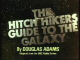 The Hitchhiker's Guide to the Galaxy (TV series)