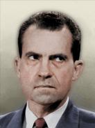 Portrait USA Richard Nixon