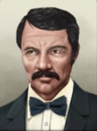 Portrait Costa Rica Ricardo Jiménez Oreamuno