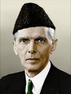 Portrait Pakistan Ali Jinnah