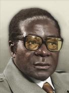 Portrait Zimbabwe Robert Mugabe