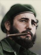 Portrait Cuba Fidel Castro TNO