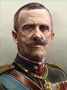 Portrait Italy Victor Emmanuel III