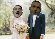 Hitler casado con Fegelein