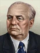 Portrait Germany Wilhelm Pieck