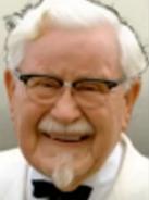 Portrait Colonel Sanders